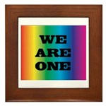 WE ARE ONE XXV™: Framed Tile