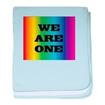WE ARE ONE XXV™: baby blanket