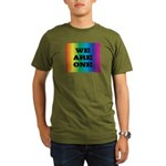 WE ARE ONE XXV™: Organic Men's T-Shirt (dark)