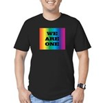 WE ARE ONE XXV™: Men's Fitted T-Shirt (dark)