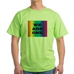 WE ARE ONE XXV™: Green T-Shirt