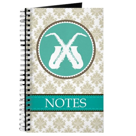 Saxophone Music Journal Gift