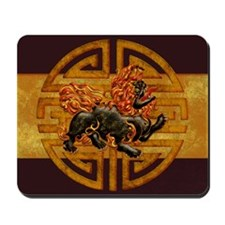 Harvest Moon's Foo Dog Mousepad
