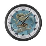 Siren Sisters Large Wall Clock