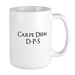 Carpe Diem Quoted Products Large Mug