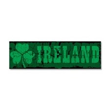 Ireland Car Magnet 10 x 3