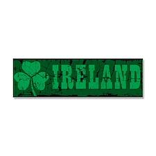 Ireland Car Magnet 10 x 3