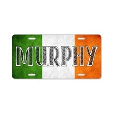 Murphy Shield Aluminum License Plate