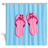 Funny Queen shoes Shower Curtain