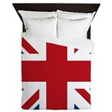 United Kingdom Union Jack Flag Queen Duvet