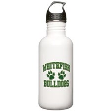 Whitefish Bulldogs Tackle & T Water Bottle