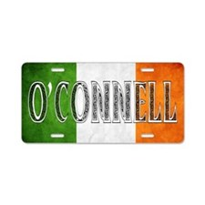 O'Connell Shield Aluminum License Plate