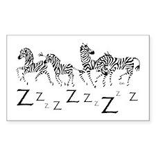 Zebra Z's Decal