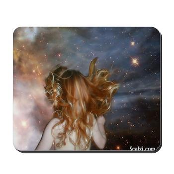 Athena Starchild Mousepad