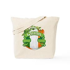 Quinn Shield Tote Bag