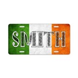 Smith Shield Aluminum License Plate