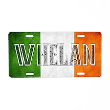Whelan Shield Aluminum License Plate