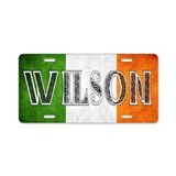 Wilson Shield Aluminum License Plate