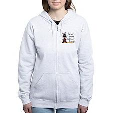 Ladybug Teacher Zip Hoodie