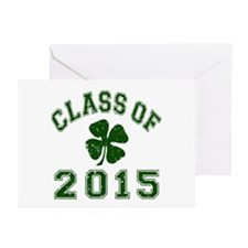 Class Of 2015 Shamrock Greeting Cards (Pk of 20)
