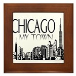 Chicago My Town Framed Tile