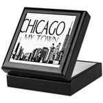Chicago My Town Keepsake Box