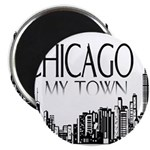 Chicago My Town Magnet