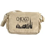 Chicago My Town Messenger Bag