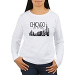 Chicago My Town Women's Long Sleeve T-Shirt