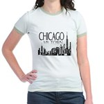 Chicago My Town Jr. Ringer T-Shirt