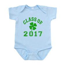 Class Of 2017 Shamrock Infant Bodysuit