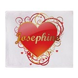 Josephine Valentines Throw Blanket