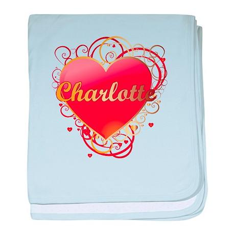 Charlotte Valentines baby blanket