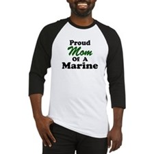 Proud Mom of a Marine Baseball Jersey