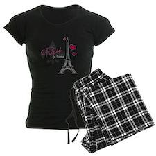 Paris je t'aime Pajamas(pink)
