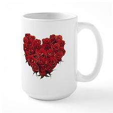 Rosy Heart Mug