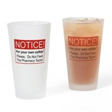 Notice / Pharmacy Drinking Glass