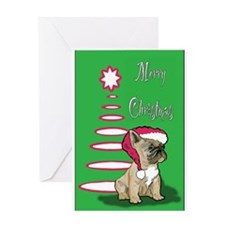 Frenchy Christmas Greeting Card