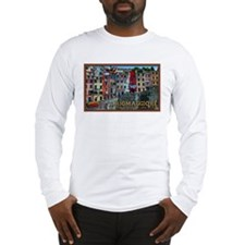 Riomaggiore Waterfront Long Sleeve T-Shirt