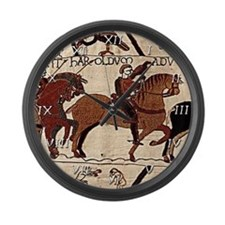 Bayeux Tapestry Large Wall Clock