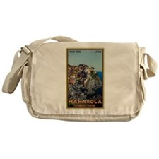 Manarola Town Messenger Bag