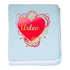 Arlene Valentines baby blanket