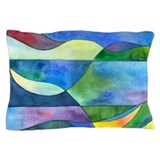 Jungle River Abstract Pillow Case