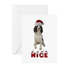 Nice Springer Spaniel Greeting Cards (Pk of 20)