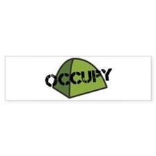 Occupy Tent Bumper Sticker
