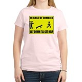 In Case of Zombies Lay Down I T-Shirt