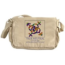 True Neutral Messenger Bag