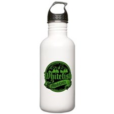 Whitefish Old Green Water Bottle