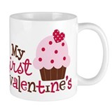 1st Valentines Day Cupcake Mug