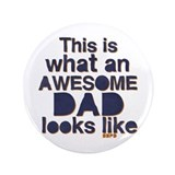 "Awesome Dad 3.5"" Button"